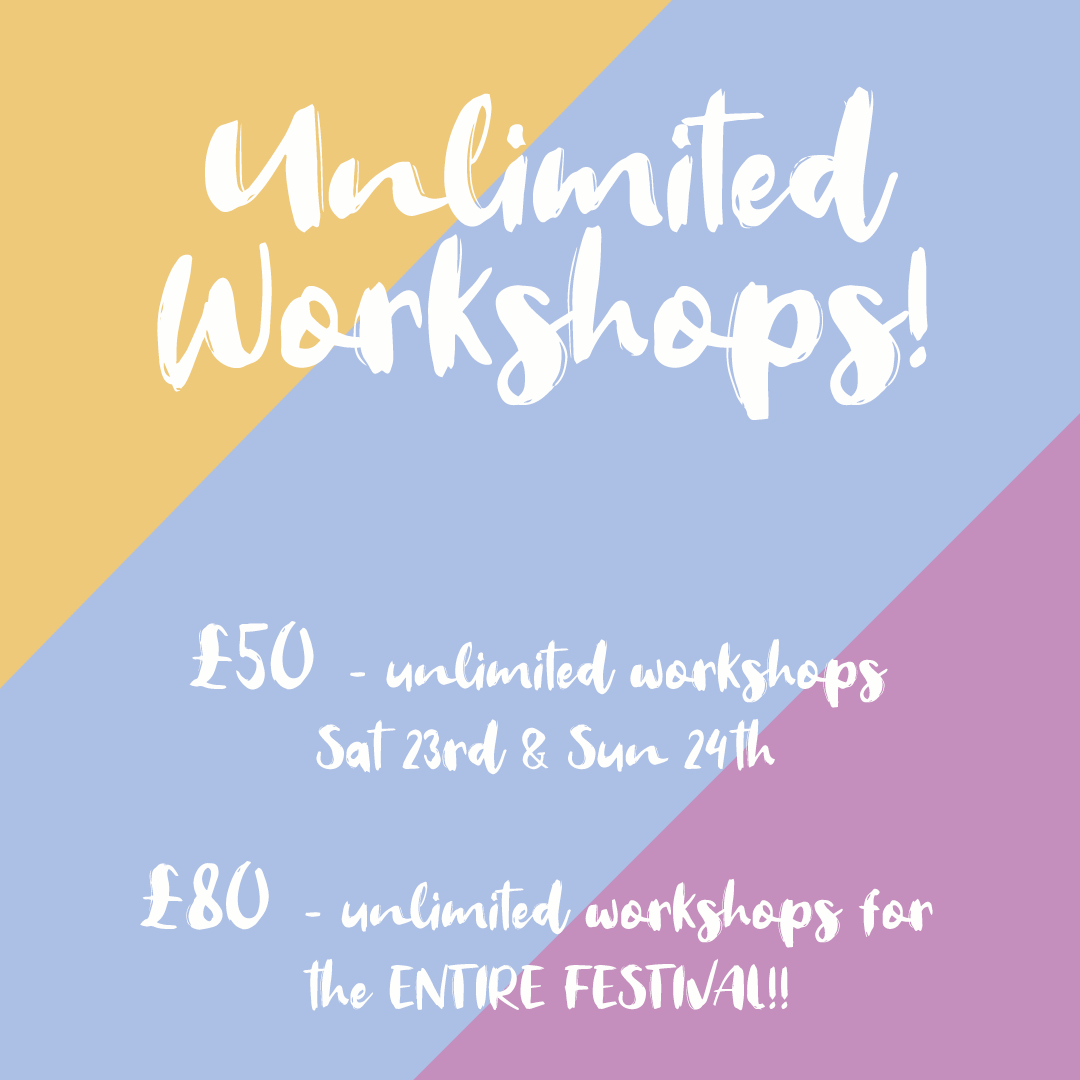 UNLIMITED offer for the Wellbeing Festival Online!