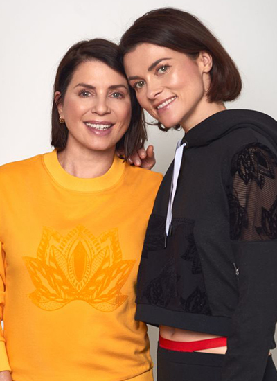 Holly Davidson & Sadie Frost